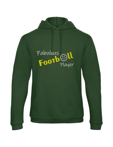 FABULOUS FOOTBALL PLAYER HOODY