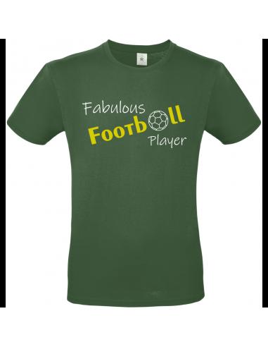 FABULOUS FOOTBALL PLAYER T-SHIRT