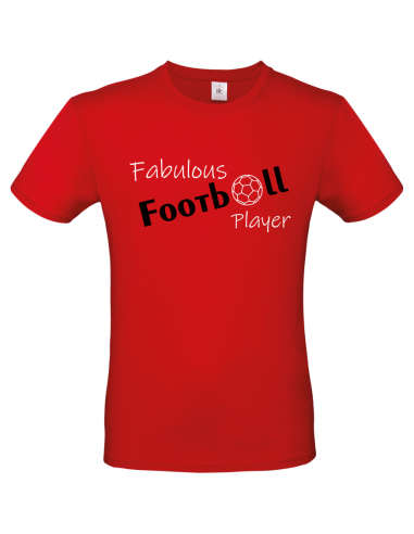 FABULOUS FOOTBALL PLAYER T-SHIRT