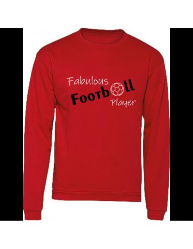 FABULOUS FOOTBALL PLAYER SWEATER