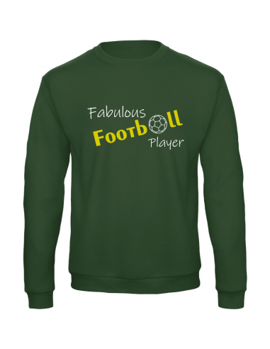 FABULOUS FOOTBALL PLAYER SWEATER